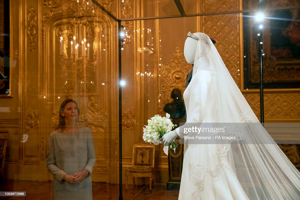 Royal Wedding exhibition at Windsor Castle : News Photo