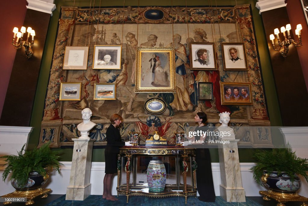 Prince of Wales' 70th birthday exhibition : News Photo