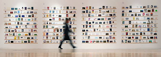 The RCA Hold Their Secret Postcard Exhibition