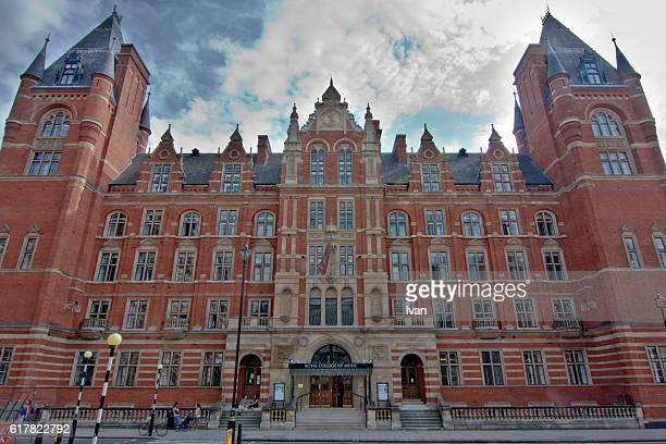 Royal College of Music under Blue Sky, London, UK
