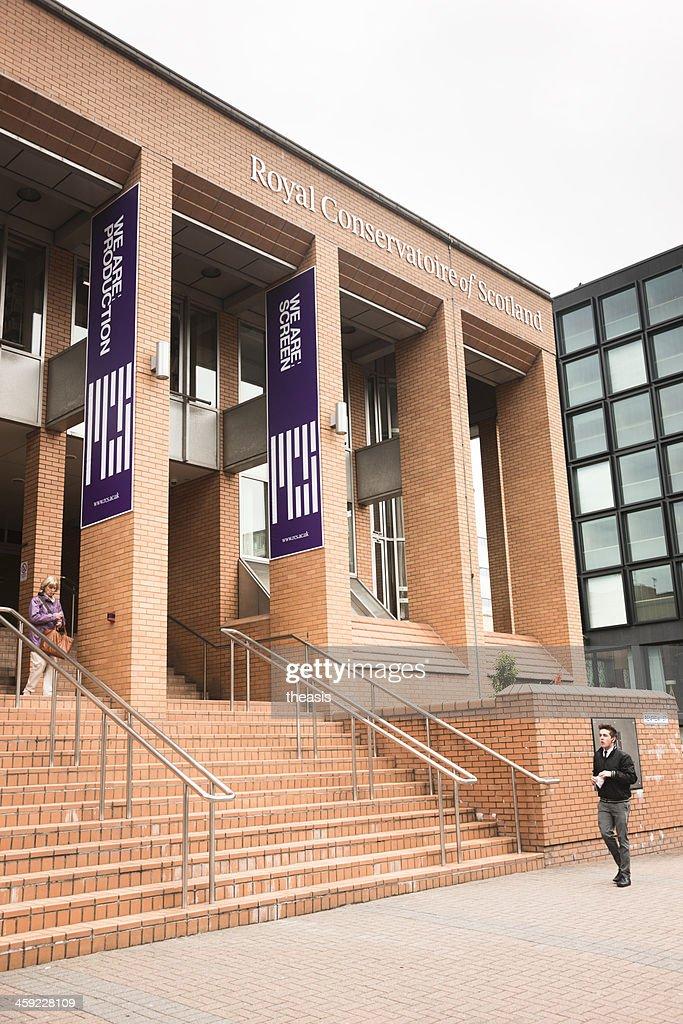 Royal Conservatoire of Scotland, Glasgow : Stock Photo