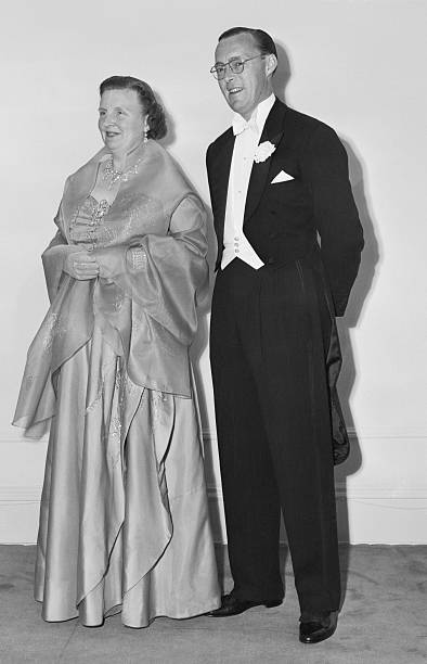 Portrait Of Queen Juliana With Prince Bernhard Pictures Getty Images