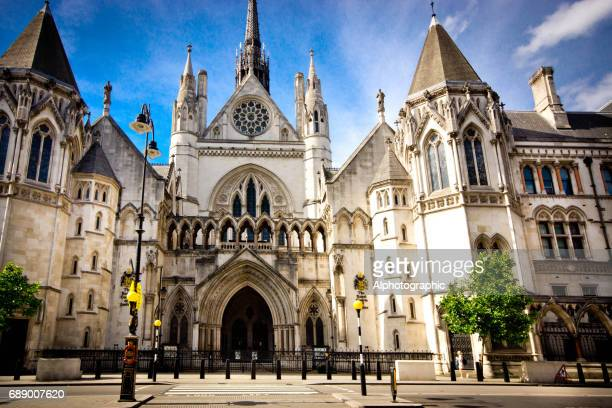 royal courts of justice - the strand london stock pictures, royalty-free photos & images