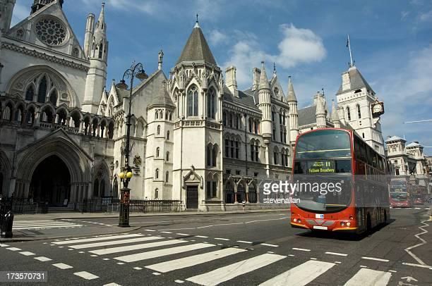 cortes reais - royal courts of justice imagens e fotografias de stock