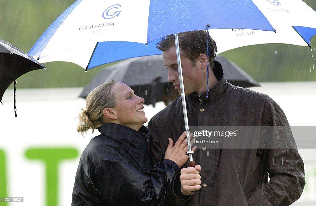 Zara Phillips And William : News Photo