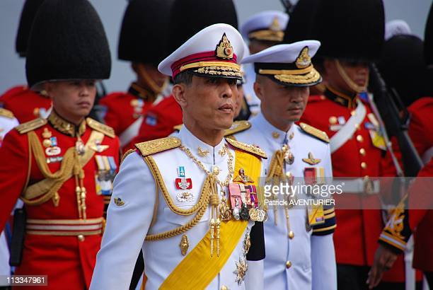 Royal Cremation Of The Princess Galyani Vadhana In Bangkok Thailand On November 15 2008 Thailand's Crown Prince Maha Vajiralongkorn walks in the...