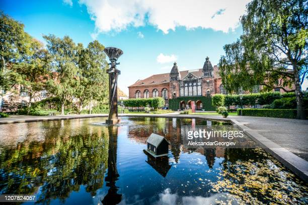 royal danish library in copenhagen, denmark - danish culture stock pictures, royalty-free photos & images