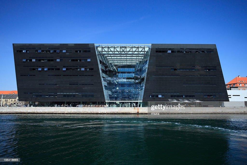 Royal Danish Library (Black diamond) : Stock Photo