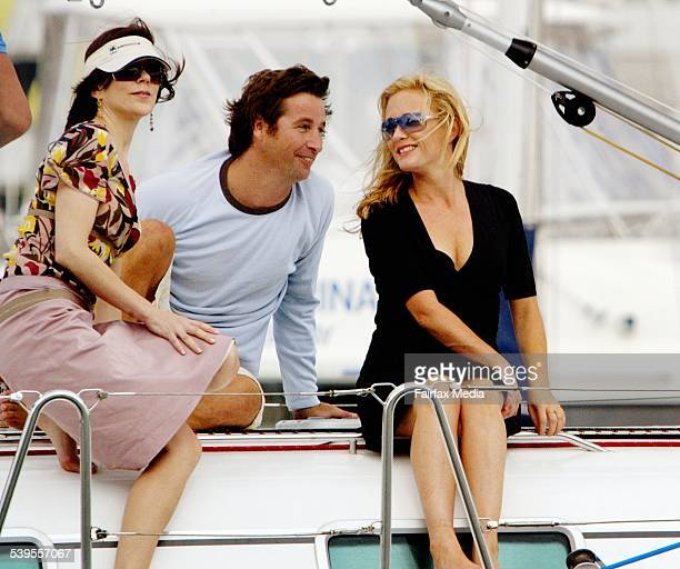 Royal Danish tour to Australia Princess Mary sails on a yacht with old friend Hamish Campbell Mary and her friend Amber Petty pictured took an...