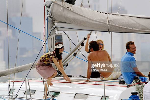 Royal Danish tour to Australia. Princess Mary sails on a yacht with old friend Hamish Campbell and her friend, Amber Petty amongst others. The...