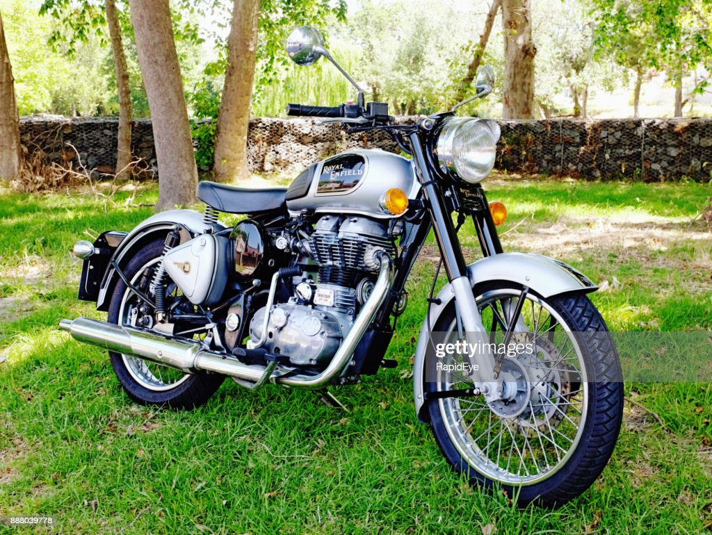 Royal Enfield Classic 500 motorcycle, 2014 model