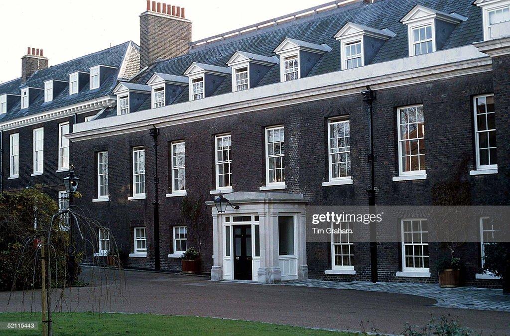 Kensington Palace Appartment Of Prince And Princess Of Wales : News Photo