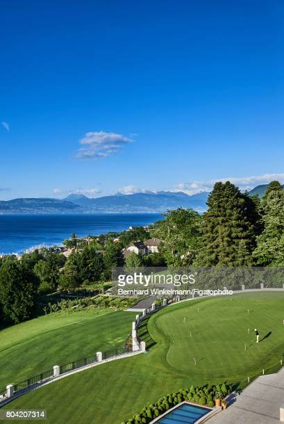 Royal Evian Resort's golf course is photographed for Madame Figaro on June 7 2017 in EvianlesBains France PUBLISHED IMAGE CREDIT MUST READ Bernhard...