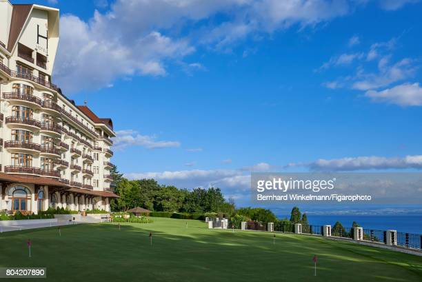 Royal Evian Resort's golf course is photographed for Madame Figaro on June 7 2017 in EvianlesBains France CREDIT MUST READ Bernhard...