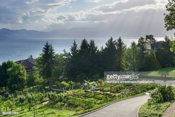 Royal Evian Resort's vegetable garden is photographed for Madame Figaro on June 7 2017 in EvianlesBains France PUBLISHED IMAGE CREDIT MUST READ...