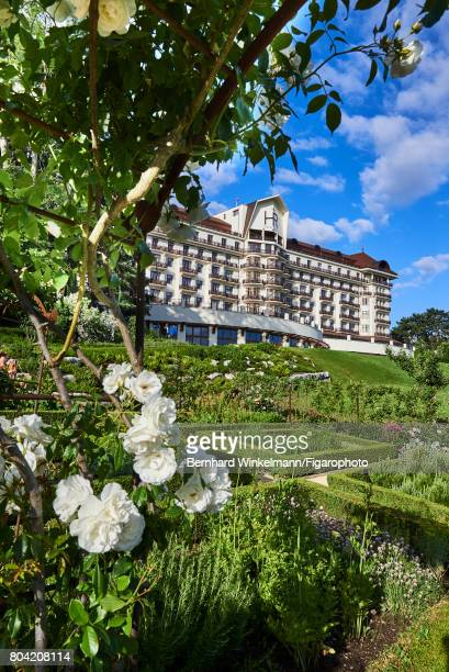 Royal Evian Resort's vegetable garden is photographed for Madame Figaro on June 7 2017 in EvianlesBains France CREDIT MUST READ Bernhard...