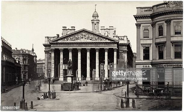 Royal Exchange London England United Kingdom Albumen Print circa 1890