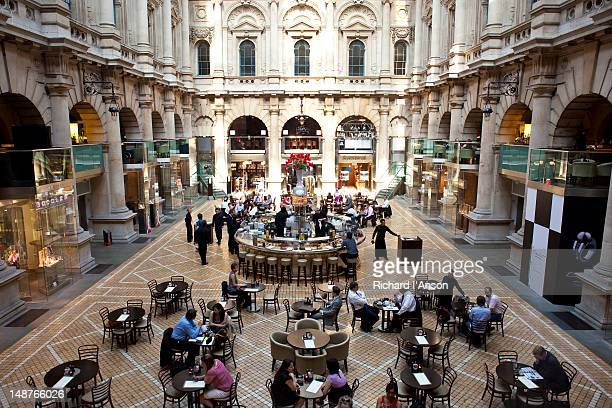 Royal Exchange, luxury shopping and dining centre.