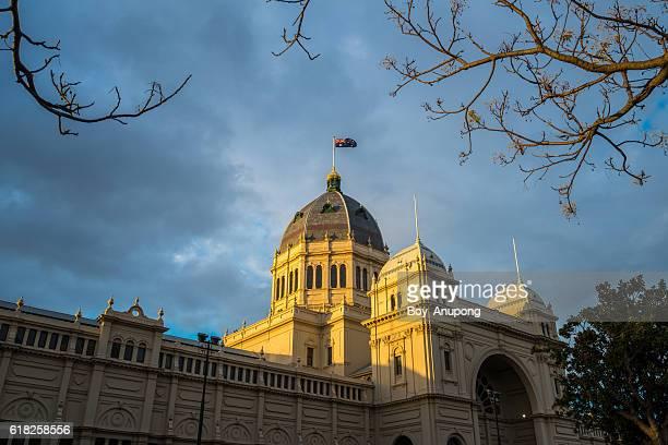 Royal Exhibition Building, Melbourne.