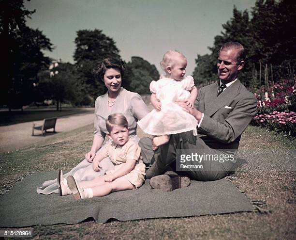 Royal Family Picnicking at Balmoral