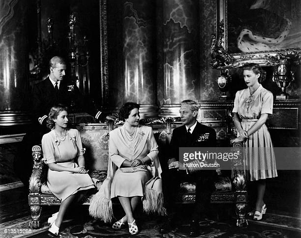 Royal Family with Lord Mountbatten