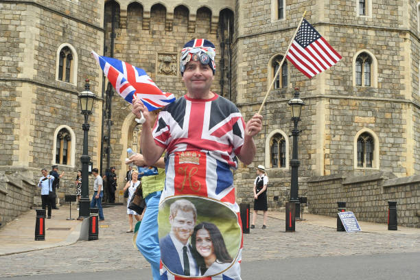 GBR: Atmosphere In Windsor On The Christening Day Of Archie Harrison Mountbatten-Windsor