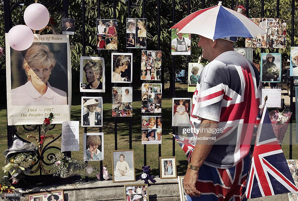 8th Anniversary Of Death Of Diana Princess Of Wales : News Photo