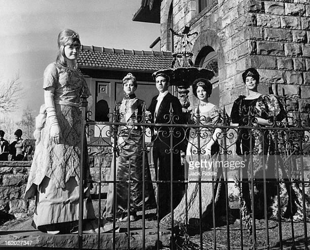 MAR 12 1966 MAR 20 1966 Royal Flushé¦ includes Nancy Burton left Duchess of Burlingame Rose Ann Cain Grand Duchess Marie Meholaiovra Enrique Perez...