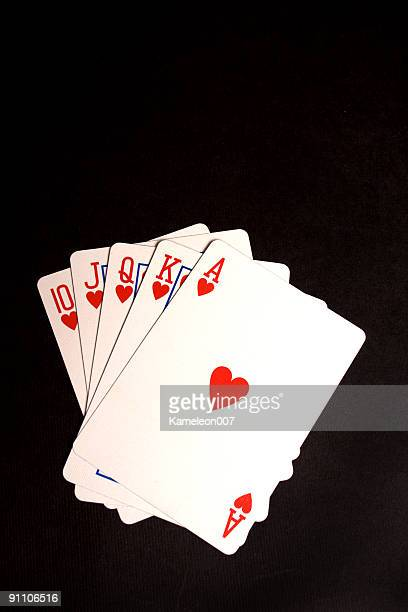 Royal Flush (Hearts)