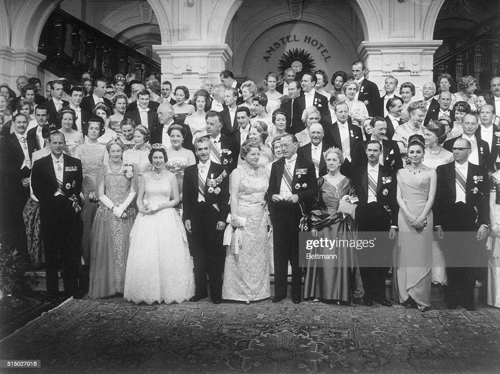 Portrait of Royal Gathering : News Photo