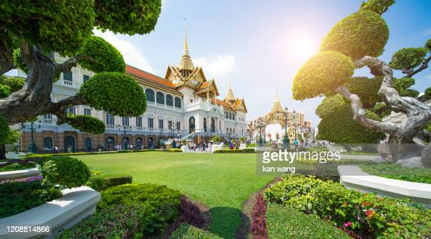 royal grand palace in bangkok - stock photo - royalty stock pictures, royalty-free photos & images