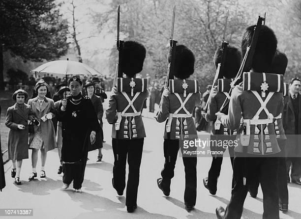 Royal Guard At London Hyde Park In United Kingdom