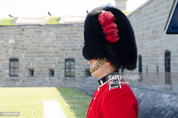 Royal Guard in front of Quebec Citadel