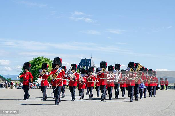 Royal Guard music band military fanfare parade
