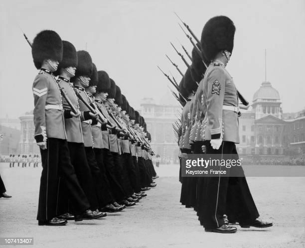 Royal Guard Parade In United Kingdom