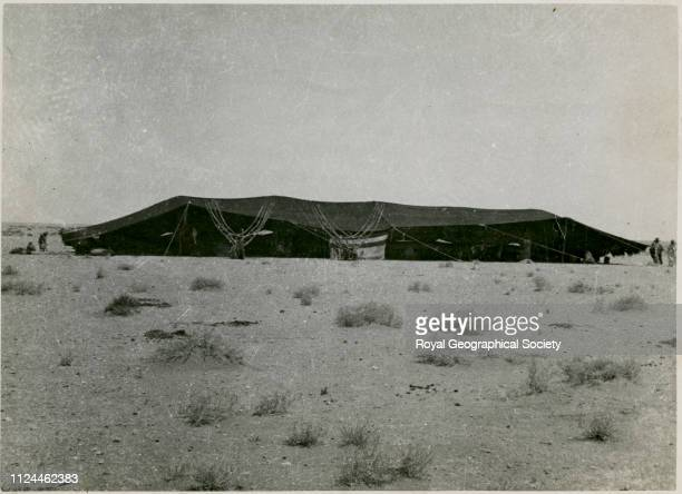 Royal guest tent Gerald de Gaury was a British military officer he was the British political agent in Kuwait during the 1930s Saudi Arabia 14246...