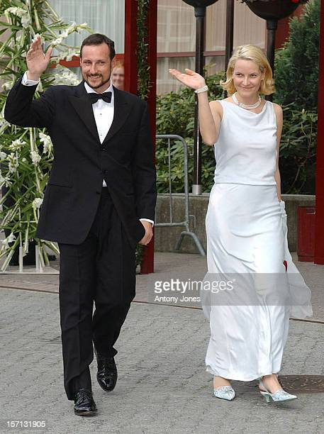 Royal Guests Attend A Gala Variety Show At Olavshallen Trondheim The Evening Before The Wedding Of Princess Martha Louise Of Norway And Ari Behn...