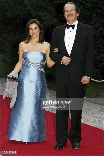 Royal Highnesses Duchess Dona Isabel and Duke Dom Duarte of Braganca Grand Duke Henri and Grand Duchess Maria Teresa gave a dinner and hosted a dance...