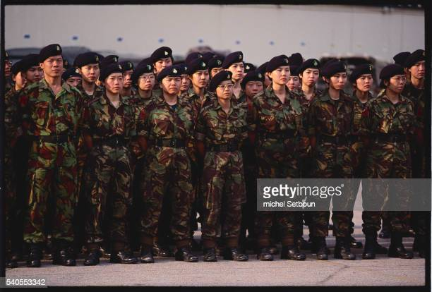 Royal Hong Kong Regiment Soldiers