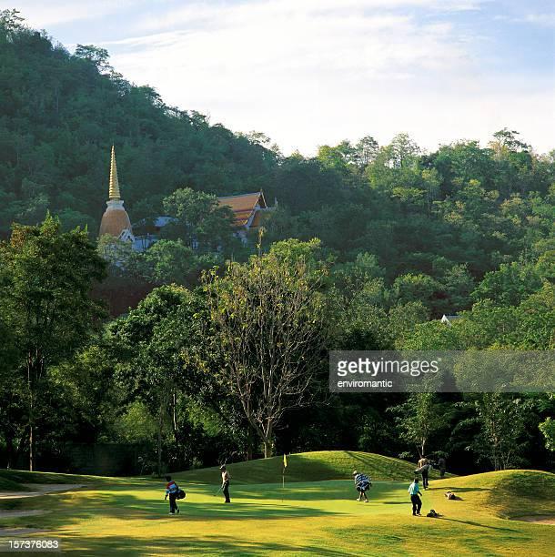 Parcours de Golf Royal de Hua Hin, en Thaïlande.