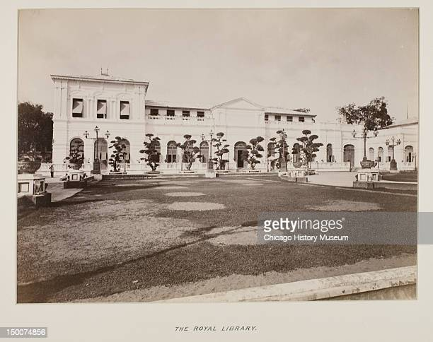 Royal Library Siam from photograph album 1893 From photograph album presented to Bertha Honore Palmer President of the Board of Lady Managers of the...