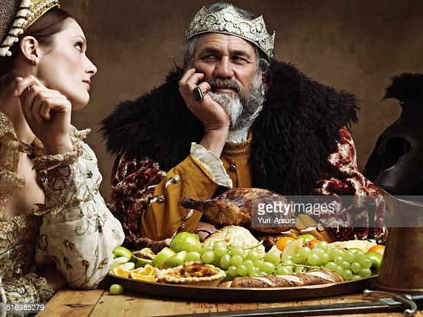 royal life can be tedious... - rei pessoa real - fotografias e filmes do acervo