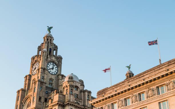 Royal Liver Building dominates the Liverpool skyline