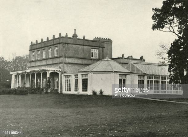 The Country Home of the Royal Family', 1937. A Grade II listed house in Windsor Great Park in Berkshire, England, known as the Royal Lodge since the...