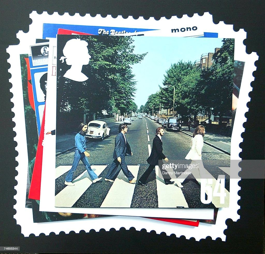 Royal Mail Stamps featuring The Beatles - Photocall - January 8, 2007 : News Photo