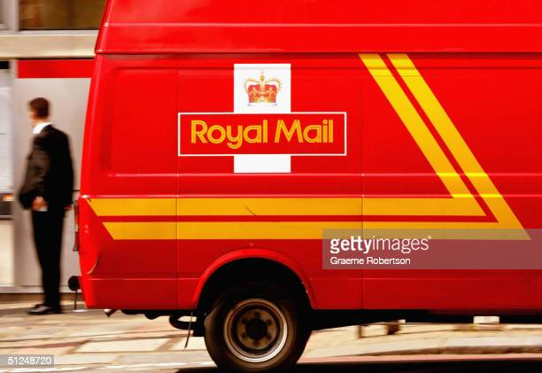 Royal Mail van is shown August 31 2004 in North London England The Royal Mail today announced that it had failed to meet any of its performance...