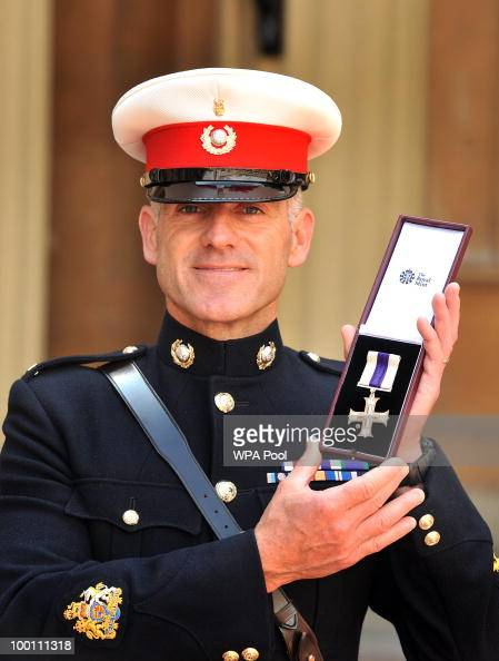 Royal investiture at buckingham palace pictures getty images - Becoming a marine officer ...