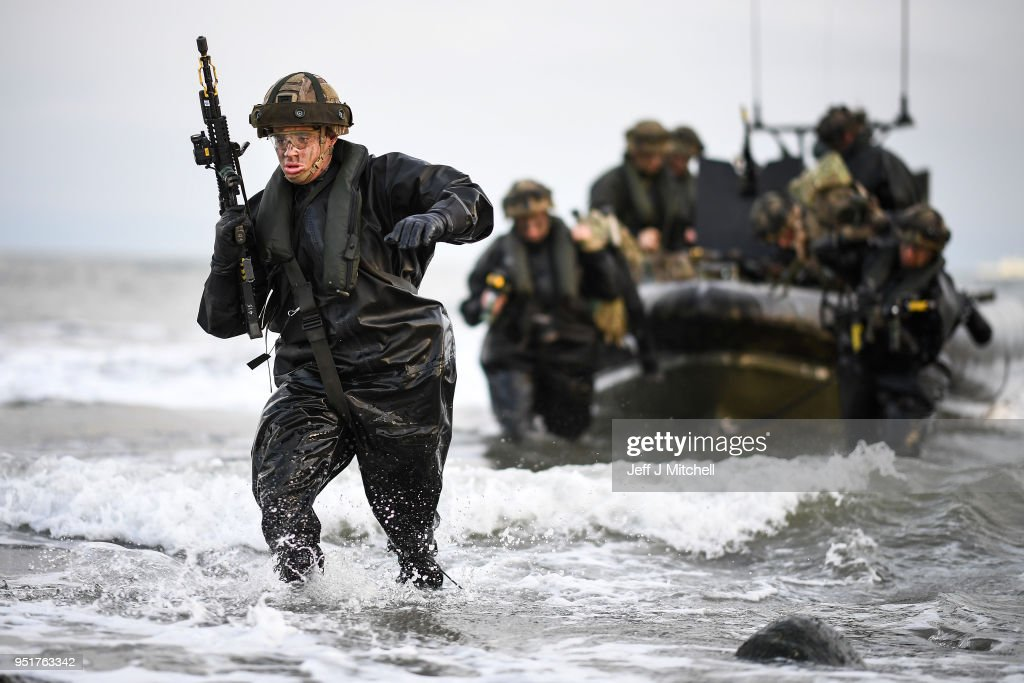 NATO Forces Take Part In Joint Warrior Military Exercise