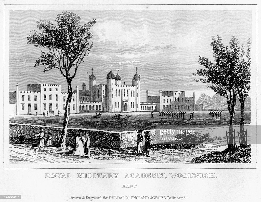 Royal Military Academy, Woolwich, London, 19th century. The Royal ...