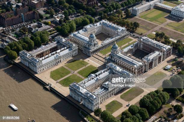 Royal Naval College Greenwich London 2012 Originally founded as a hospital for seamen in the 1690s its architects include Christopher Wren Nicholas...